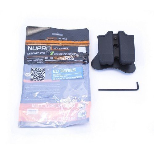 NUPROL Nuprol EU Series G17/G18 Double Magazine Pouch