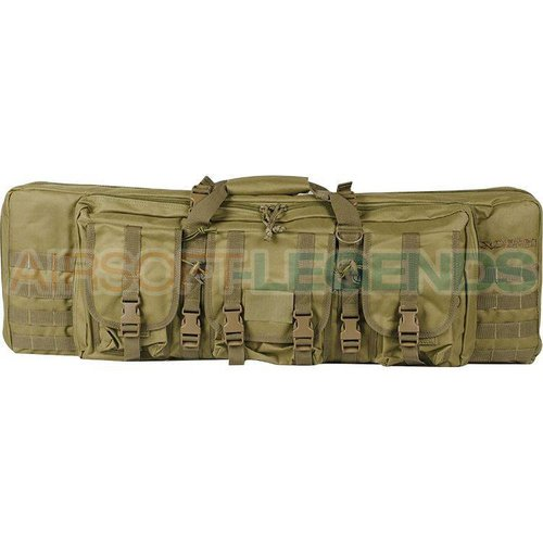 """Valken Falcons Tactical 42\"""" Double Gun Bag Tan"""