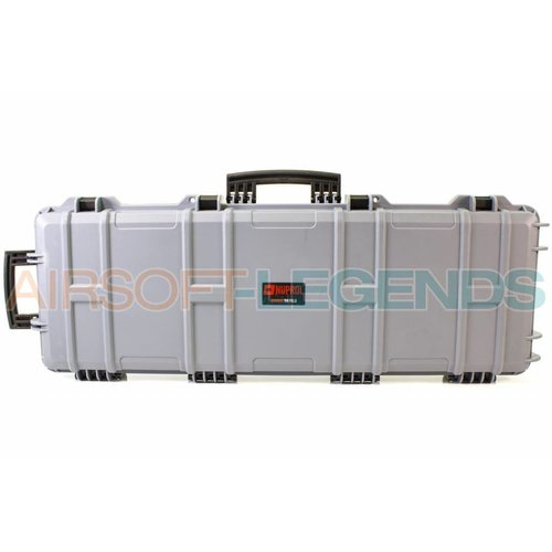 NUPROL Nuprol Large Hard Case Grey with Pluck Foam