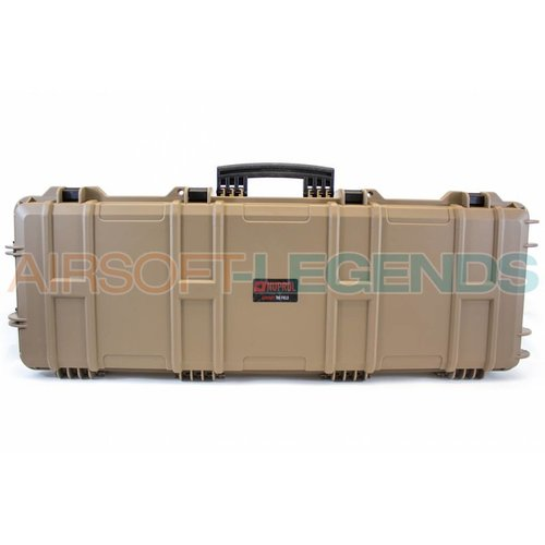 NUPROL Nuprol Large Hard Case Tan with Pluck Foam