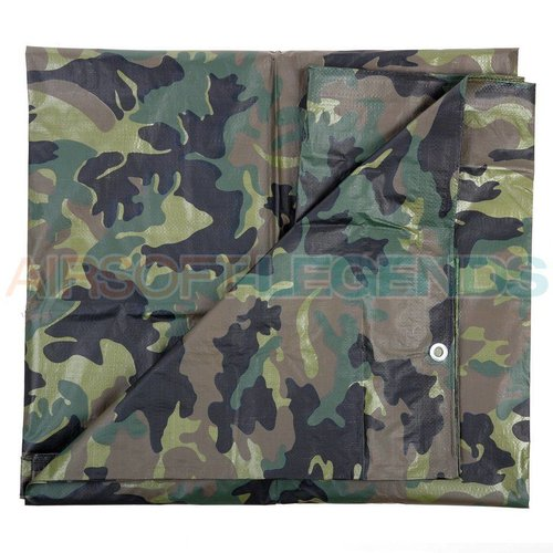 Fosco Fosco Canvas cover Woodland 4x5m
