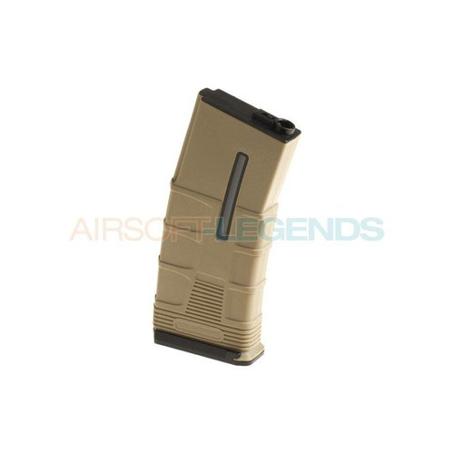 ICS ICS Magazine M4 Midcap Tactical 120rds Tan