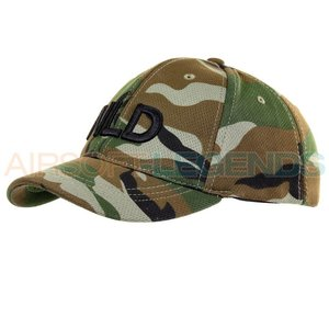 101Inc. 101Inc NLD Baseballcap Stretch Woodland