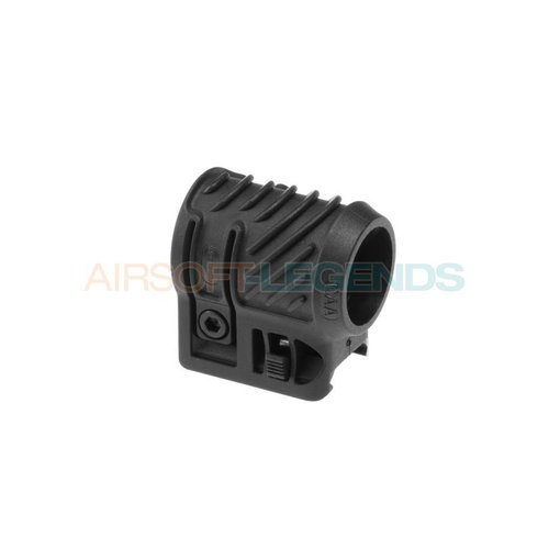 CAA Tactical CAA Tactical Picatinny Flashlight Adaptor Black