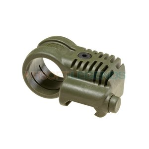 CAA Tactical CAA Tactical Picatinny QR Offset Flashlight Adaptor OD