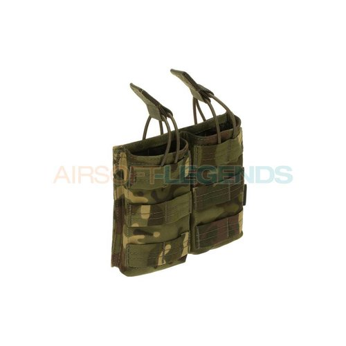 Invader Gear Invader Gear 5.56 Double Direct Action Mag Pouch Multicam Tropic