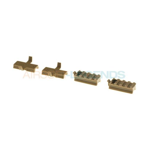 Emerson Emerson FAST Mount Rail Set Tan