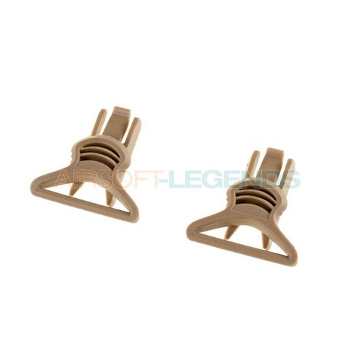 FMA FMA Goggle Swivel Clips 36mm Dark Earth