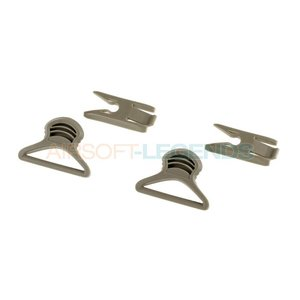 FMA FMA Goggle Swivel Clips 36mm Foliage Green