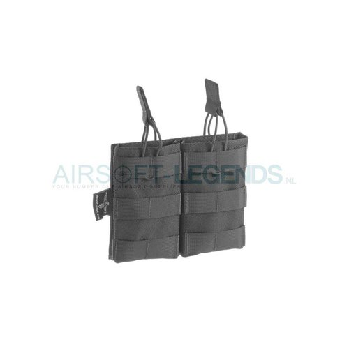 Invader Gear Invader Gear 5.56 Double Direct Action Mag Pouch Black