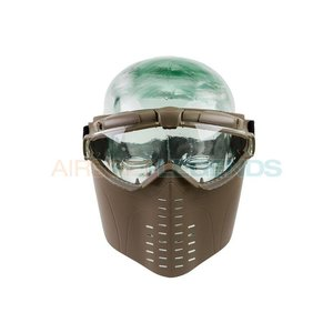 Battle Axe Battle Axe Pro Vent Goggles Tan
