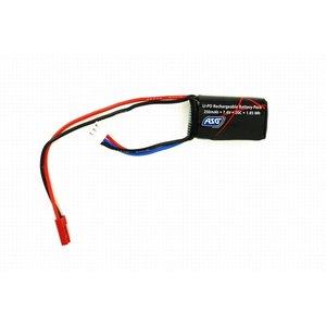 ASG ASG 7.4V 250mah 20C lipo batterij voor HPA