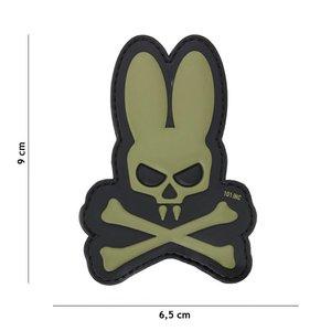 101Inc. 101Inc. Skull Bunny Green