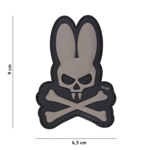 101Inc. 101Inc. Skull Bunny Grey