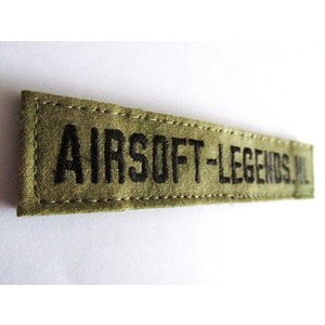 Airsoft-Legends Airsoft-Legends Custom Name Tape (Multicam, AU or FG)