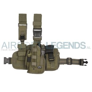 101Inc. 101Inc. Molle Been Holster Links (Div. camo's)