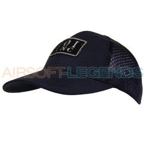 101Inc. Logo Tactical Mesh Cap Black