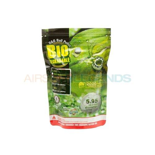 G&G G&G 0.25g Bio Precision BB 2000rds White