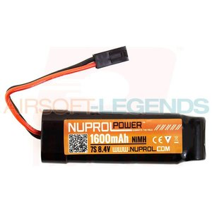NUPROL Nuprol Power 8.4V 1600MaH Nimh Small Type