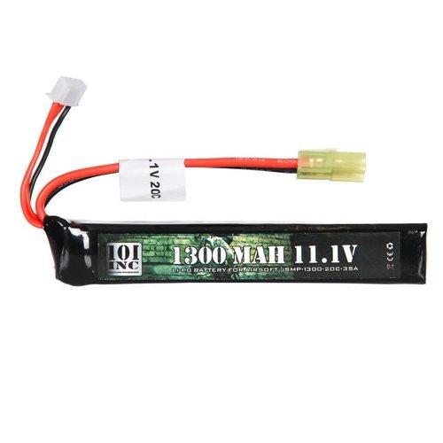 101Inc. 101Inc. LiPo 11.1V 1300Mah 20C Stick type