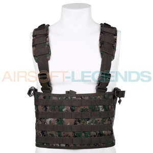 101Inc. 101Inc Recon Chest Rig Digital Woodland/Marpat