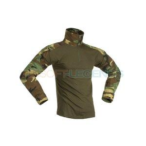 Invader Gear Invader Gear Combat Shirt Woodland