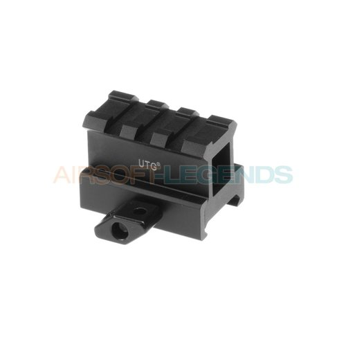Leapers Leapers High Profile 3-Slot Twist Lock Riser Mount