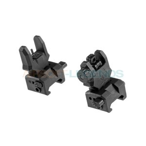 FMA FMA Gen 3 Flip-Up Sights Black
