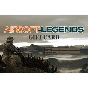 Airsoft-Legends Airsoft Legends Gift Card