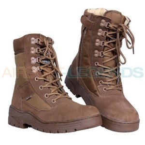Fostex Fostex Sniper Boots with YKK Zipper Coyote