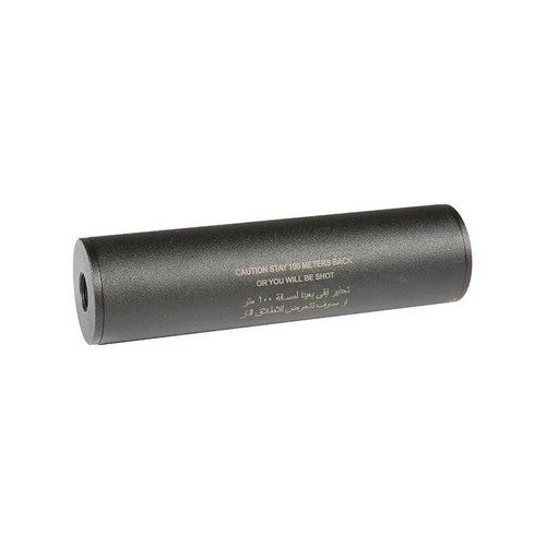 "Airsoft Engineering Airsoft Engineering ""Stay 100 meters back"" Covert Tactical 40x150mm silencer"