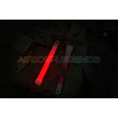 Clawgear Clawgear 6 Inch Light Stick Red