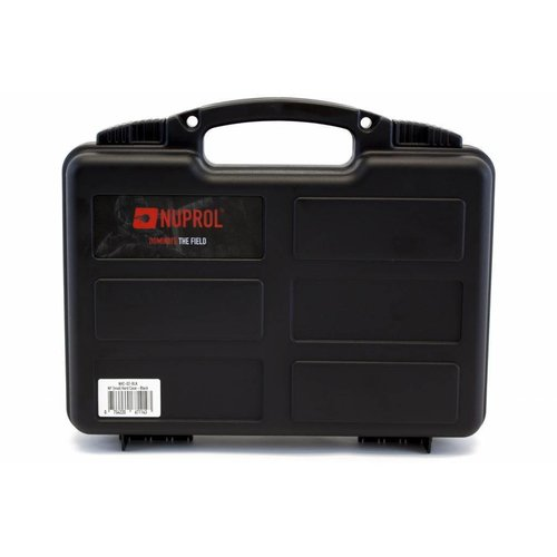 NUPROL Nuprol Small Pistol Hard Case Black