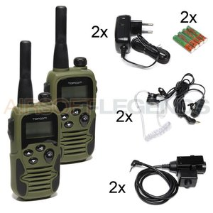 Topcom 9500 Twintalker Airsoft Edition (2 st)
