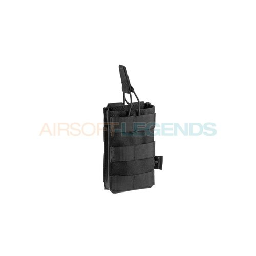 Invader Gear Invader Gear 5.56 Single Direct Action Mag Pouch Black