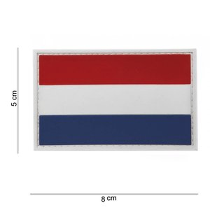 101Inc. 101Inc. Nederlandse Vlag Rubber Patch
