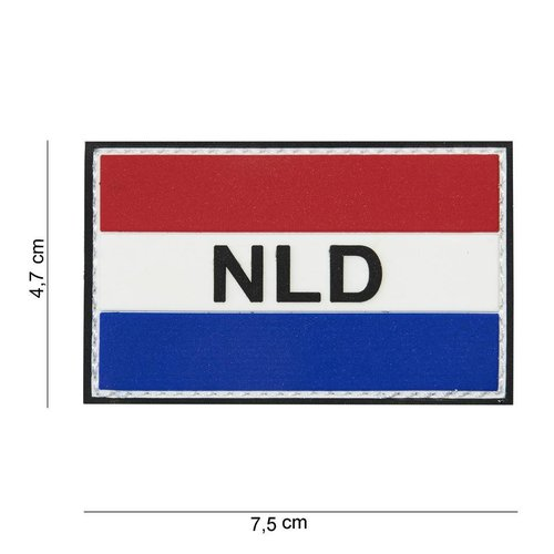 101Inc. 101Inc. NLD Flag with Velcro
