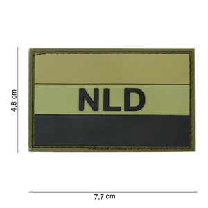 101Inc. 101Inc. NLD Rubber Patch Groen/zwart