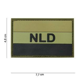 101Inc. NLD Rubber Patch Groen/zwart