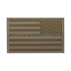 Clawgear Clawgear USA Reversed Flag Patch RAL7013