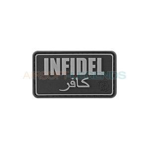 JTG Infidel Rubber Patch Black