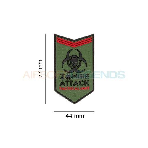 JTG JTG Zombie Attack Rubber Patch Multicam