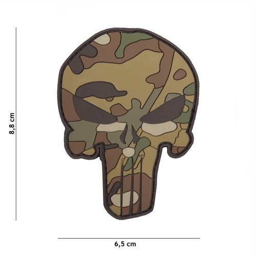 101Inc. 101Inc. Punisher Patch Multicam