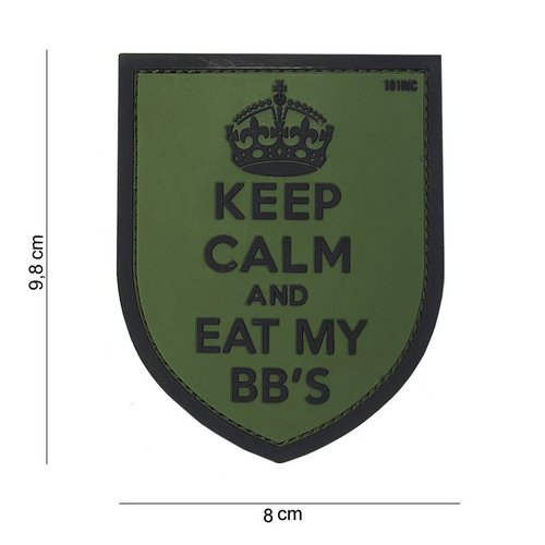 101Inc. 101Inc. PVC Keep Calm Groen