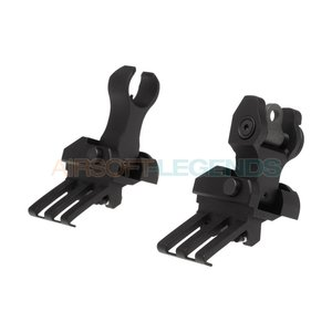 G&P G&P One O'Clock Off-Set Flip-Up Sights Black