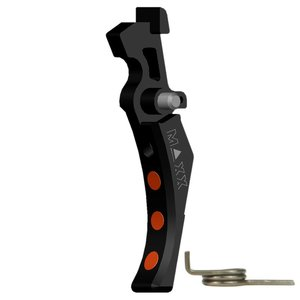 Maxx Model Maxx Model CNC Aluminum Advanced Trigger Style D - Black