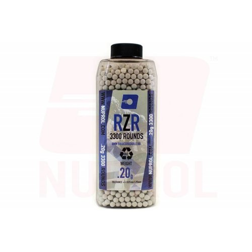 NUPROL Nuprol RZR Bio BB 0.20gr 3300rds