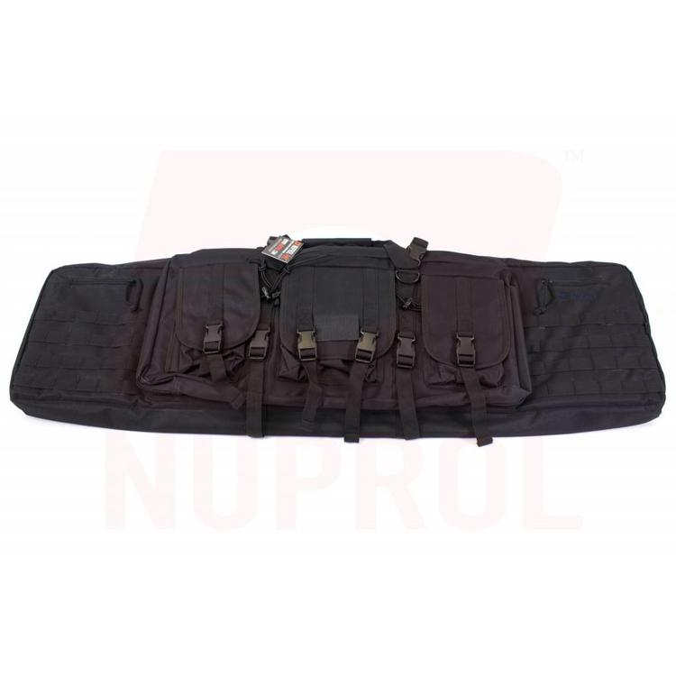 NUPROL PMC DeLuxe Double Rifle Gun Bag 46inch Black