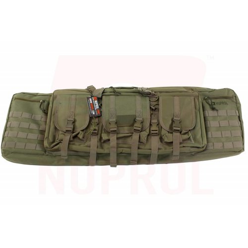 NUPROL Nuprol PMC DeLuxe Double Rifle Gun Bag 42inch Green