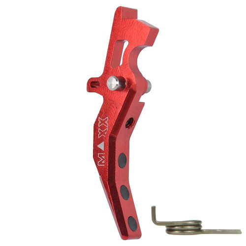 Maxx Model Maxx Model CNC Aluminum Advanced Trigger Style C - Red